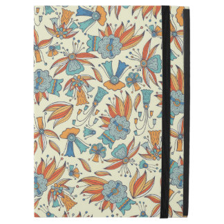 "Abstract floral pattern design iPad pro 12.9"" case"