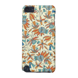 Abstract floral pattern design iPod touch (5th generation) cases
