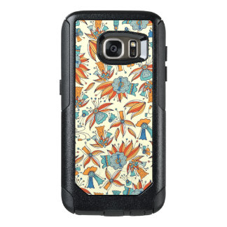 Abstract floral pattern design OtterBox samsung galaxy s7 case