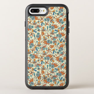 Abstract floral pattern design OtterBox symmetry iPhone 8 plus/7 plus case