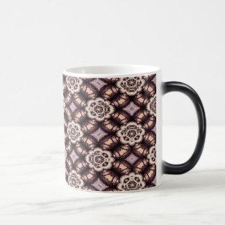 Abstract Floral Pattern Magic Mug