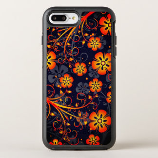 Abstract Floral Pattern OtterBox Symmetry iPhone 8 Plus/7 Plus Case