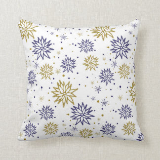 Abstract floral pattern pillow, nice for home dec throw pillow
