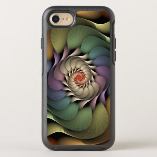 Abstract Floral Rainbow Spiral Jardinere OtterBox Symmetry iPhone 8/7 Case