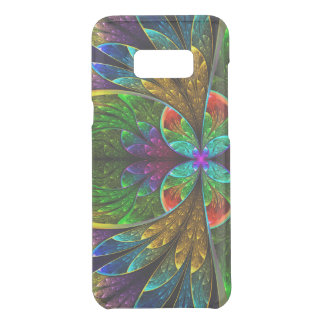 Abstract Floral Stained Glass Pattern Uncommon Samsung Galaxy S8 Plus Case