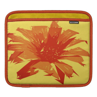 Abstract Floral Summer Duotone iPad Sleeve