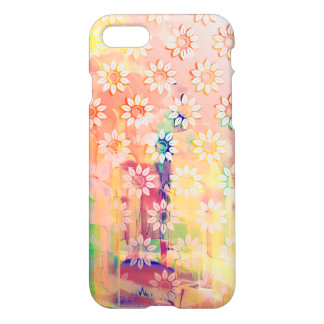 Abstract Floral Watercolor iPhone 7 Case
