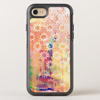 Abstract Floral Watercolor OtterBox Symmetry iPhone 8/7 Case
