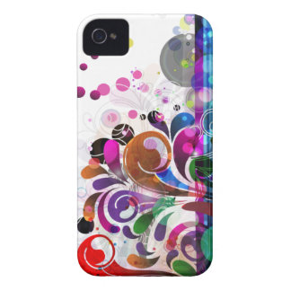 abstract flower background iPhone 4 covers