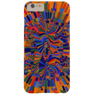 Abstract Flower Barely There iPhone 6 Plus Case