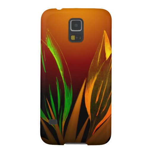 Abstract Flower Colours Of The Tulip Galaxy Nexus Cover