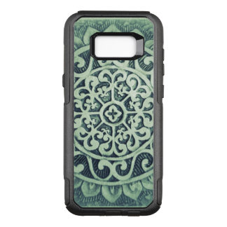 Abstract Flower Design OtterBox Commuter Samsung Galaxy S8+ Case