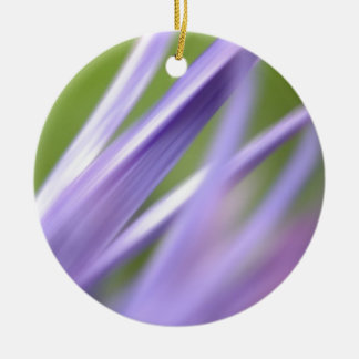 abstract flower, from the flower gift collection round ceramic ornament