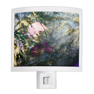 Abstract Flower in Water Night Lights