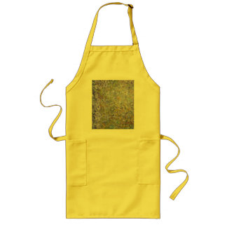 Abstract Flower Long Apron