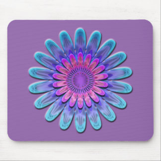 Abstract flower. mouse pad
