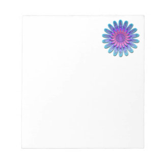 Abstract flower. notepads