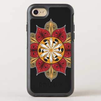 Abstract Flower Pattern OtterBox Symmetry iPhone 7 Case
