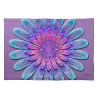 Abstract flower. placemat