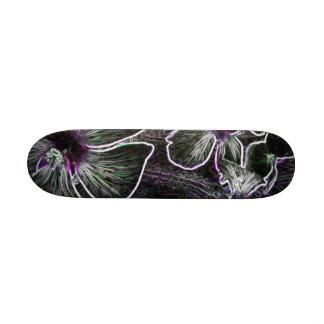Abstract Flower Skateboard Deck