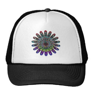 Abstract flower. trucker hat