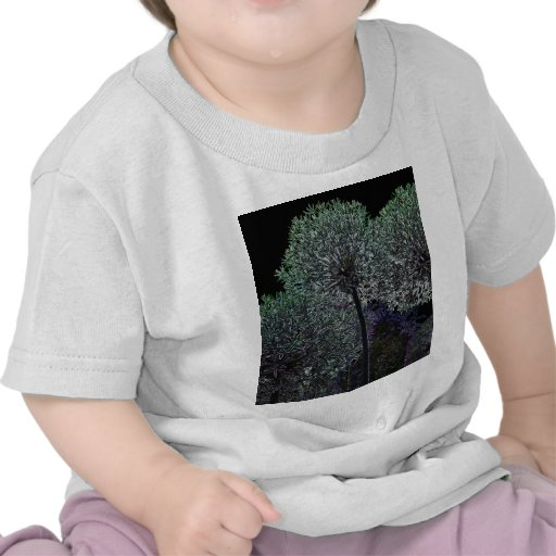Abstract Flower T-shirts