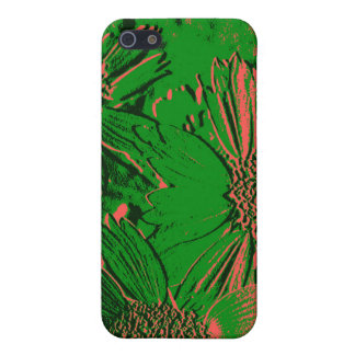 Abstract Flowers 1 iPhone 5 Case