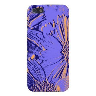 Abstract Flowers 2 Cute Floral iPhone 5/5S Case