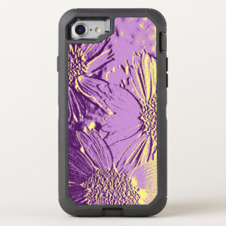 Abstract Flowers 3 Cute Floral OtterBox Defender iPhone 8/7 Case