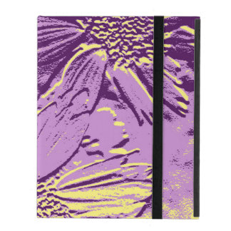 Abstract Flowers 3 iPad Cover