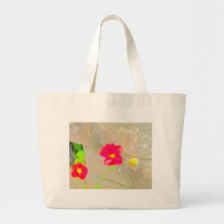 Abstract  Flowers Bag