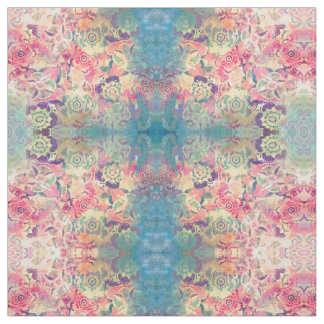 Abstract flowers, Fabric