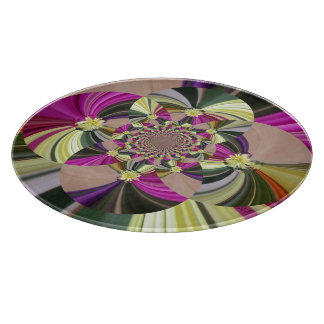 Abstract Flowers Floral Pattern Boards