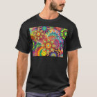 Abstract,flowers,illustartion,colour,flowers color T-Shirt