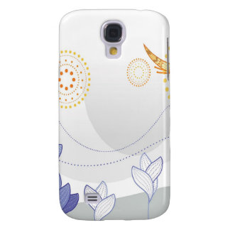 Abstract Flowers White Nature HTC Vivid Cases