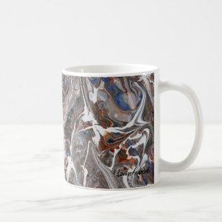 Abstract Fluid art mug