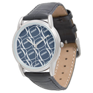 Abstract footballs watch