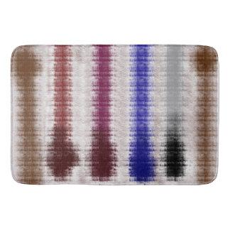 abstract forest bath mat