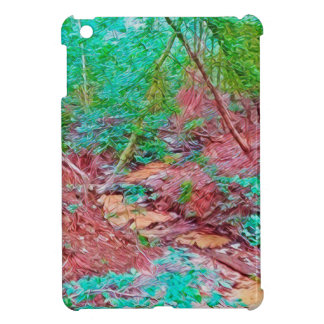Abstract Forest Cover For The iPad Mini