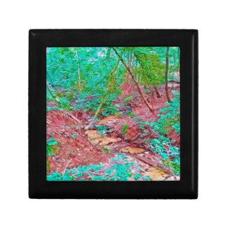Abstract Forest Gift Box