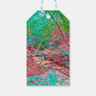 Abstract Forest Gift Tags