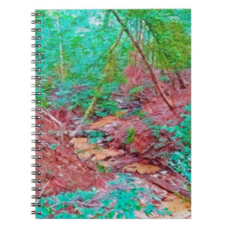 Abstract Forest Notebook
