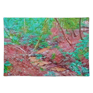 Abstract Forest Placemat