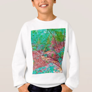 Abstract Forest Sweatshirt
