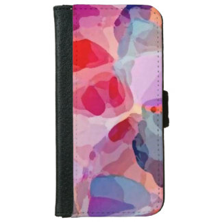 Abstract founds portfolio iPhone 6 wallet case