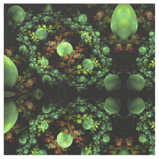 Abstract Fractal Forest Fabric