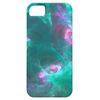 Abstract fractal in a cold palette iPhone 5 cases