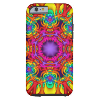 Abstract fractal kaleidoscope iPhone 6 case