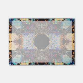 Abstract Fractal Mandala Post-it Notes