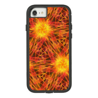 abstract fractal orange red Case-Mate tough extreme iPhone 7 case